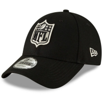 NFL new era shield спортивная бейсболка черная