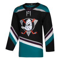 Anaheim Ducks nhl adidas alternate authentic хоккейный свитер черный