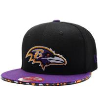 Baltimore Ravens nfl new era snapback спортивная кепка черная