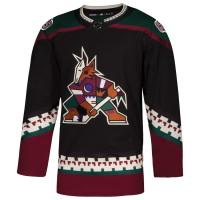 Arizona Coyotes nhl adidas authentic alternate джерси хоккейный свитер черный