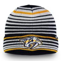 Nashville Predators nhl fanatics хоккейная зимняя шапка цветная