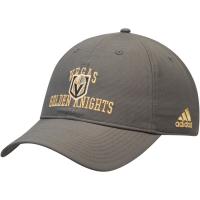 Vegas Golden Knights nhl adidas coaches хоккейная бейсболка серая