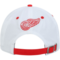 Detroit Red Wings nhl adidas coaches хоккейная бейсболка красно-белая