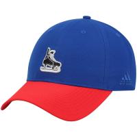 New York Rangers nhl adidas coaches хоккейная бейсболка сине-красная