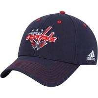 Washington Capitals nhl adidas team color хоккейная бейсболка синяя