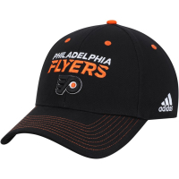 Philadelphia Flyers nhl adidas team color хоккейная черная