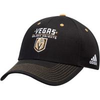 Vegas Golden Knights nhl adidas team color хоккейная бейсболка черная
