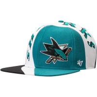 San Jose Sharks nhl '47 brand snapback хоккейная кепка с прямым козырьком