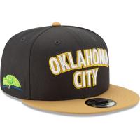 Oklahoma City Thunder nba new era snapback city edition on court спортивная кепка