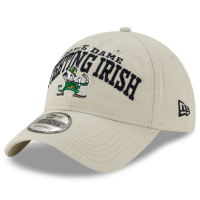Notre Dame Fighting Irish ncaa new era спортивная бейсболка светло-серая