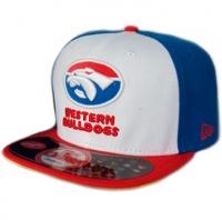 Western Buldogs afl new era snapback кепка с прямым козырьком цветная