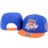New York Knicks nba '47 brand snapback кепка с прямым козырьком синяя