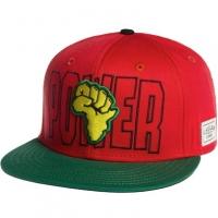 Power cayler & sons snapback рэперская кепка с прямым козырьком красная
