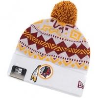 Washington Redskins nfl new era шапка с помпоном белая