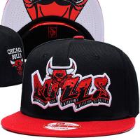 Chicago Bulls nba new era snapback спортивная кепка черная