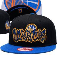 Golden State Warriors nba new era snapback кепка с прямым козырьком черная