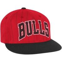 Кепка Chicago Bulls nba adidas originals snapback спортивная с прямым козырьком красная