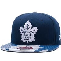 Toronto Maple Leafs nhl new era snapback хоккейная кепка с прямым козырьком синяя