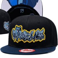 Memphis Grizzlies nba new era snapback кепка с прямым козырьком черная