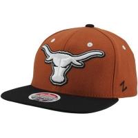 Texas Longhorns ncaa zephyr snapback спортивная кепка коричневая