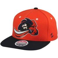 Virginia Cavaliers ncaa zephyr snapback спортивная кепка оранжевая