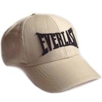 Everlast спортивная летняя бейсболка светло-бежевая