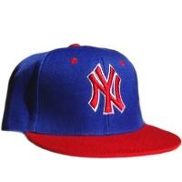 New York Yankees mlb NY snapback кепка с прямым козырьком синяя