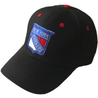 New York Rangers nhl хоккейная бейсболка черная