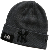 New York Yankees mlb new era NY шапка с отворотом серая