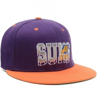 Phoenix Suns nba tisa snapback спортивная кепка фиолетовая