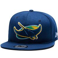 Tampa Bay Rays mlb new era snapback кепка с прямым козырьком синяя