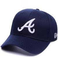 Atlanta Braves mlb new era спортивная бейсболка темно-синяя