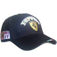 Ferrari спортивная авто бейсболка черная