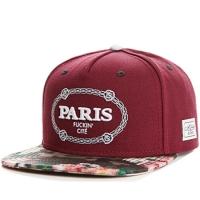 PARIS cayler & sons snapback кепка с прямым козырьком бордовая