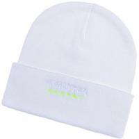 Monster Energy спортивная зимняя шапка с отворотом белая