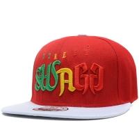 SWAG snapback рэперская кепка с прямым козырьком красная