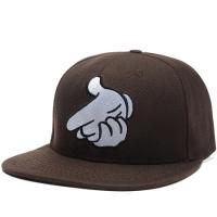 Crooks & Castles snapback кепка с прямым козырьком коричневая
