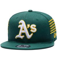 Oakland Athletics mlb new era snapback кепка с прямым козырьком зеленая