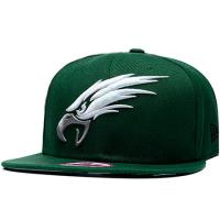 Philadelphia Eagles nfl new era snapback кепка с прямым козырьком зеленая