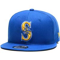 Seattle Mariners mlb new era snapback кепка с прямым козырьком синяя