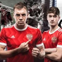 сборная России adidas футболка красная