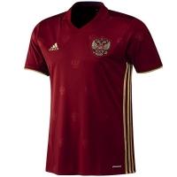 сборная России adidas футболка бордовая