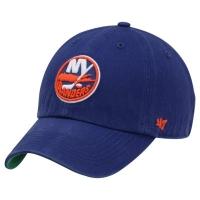 New York Islanders nhl '47 brand fitted vintage хоккейная спортивная бейсболка синяя