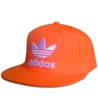 Adidas snapback кепка с прямым козырьком оранжевая