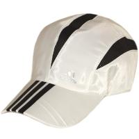 Adidas спортивная летняя бейсболка черно-белая