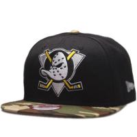 Anaheim Mighty Ducks nhl new era snapback camo хоккейная кепка с прямым козырьком