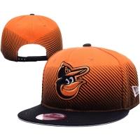 Baltimore Orioles mlb new era snapback спортивная кепка черно-оранжевая