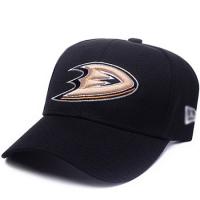 Anaheim Ducks nhl new era хоккейная спортивная бейсболка черная