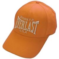 Everlast спортивная бейсболка оранжевая