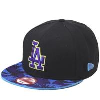 Los Angeles Dodgers mlb new era LA snapback спортивная кепка сине-черная